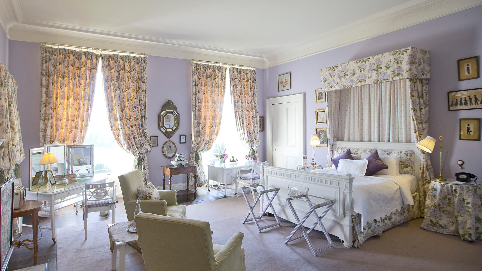 Admirable The Mauve Room Castles To Stay In Ireland Castle Leslie Download Free Architecture Designs Rallybritishbridgeorg